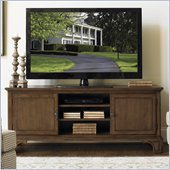 Lexington Quail Hollow Livingston Entertainment Console in Wellington Finish