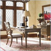 Lexington Quail Hollow Casey Writing Desk in Wellington Finish