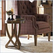 Lexington Quail Hollow Reston Side Table in Wellington Finish