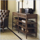 Lexington Quail Hollow Auburn Console Table in Wellington Finish