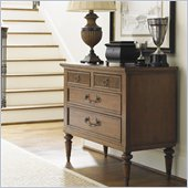Lexington Quail Hollow Danville Hall Chest in Wellington Finish