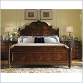 Lexington Regents Row Cambridge California King Panel Bed in Heirloom
