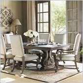 Lexington La Tourelle Toulouse Rectangular Dining Table in Aged Mocha
