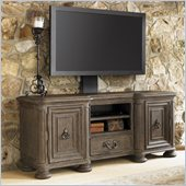 Lexington La Tourelle Ardenne TV Console in Aged Mocha Brown