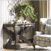 Lexington La Tourelle Bergerac Console in Aged Mocha Brown