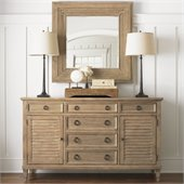 Lexington Monterey Sands Point Sur Buffet and Mirror Set