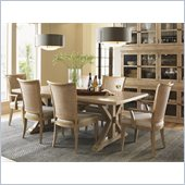 Lexington Monterey Sands Walnut Creek 9 Piece Dining Set