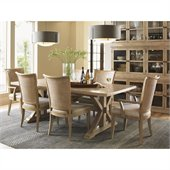 Lexington Monterey Sands Walnut Creek 7 Piece Dining Set