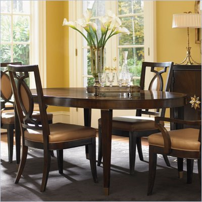 Lexington St.Tropez Divonne Dining Table in Rich Walnut Brown