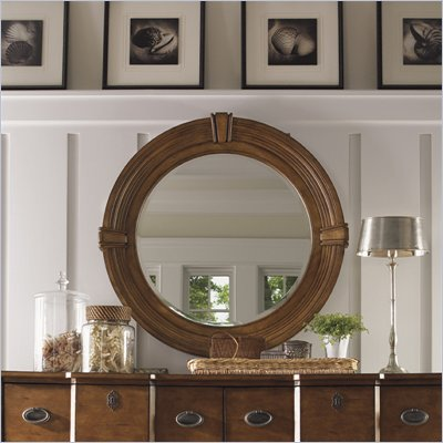 Lexington Twilight Bay Weston Mirror in Chestnut