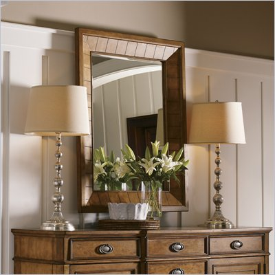 Lexington Twilight Bay Childress Mirror in Chestnut