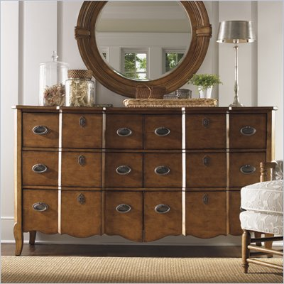 Lexington Twilight Bay Devereaux Dresser in Chestnut