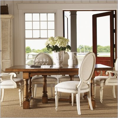 Lexington Twilight Bay Ashton Rectangular Dining Table in Chestnut