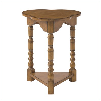 Lexington Twilight Bay Bailey Chairside Table in Chestnut