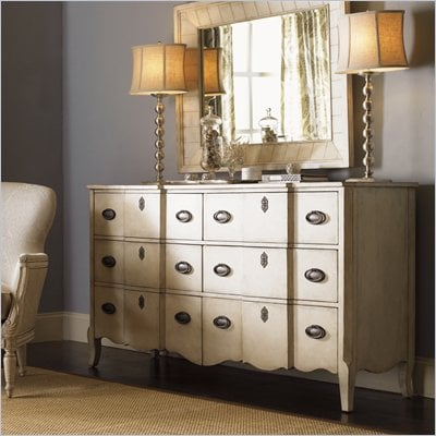 Lexington Twilight Bay Devereaux Dresser in Antique Linen