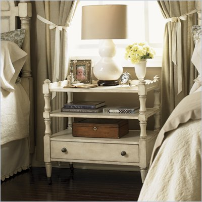 Lexington Twilight Bay Mayfair Nightstand in Antique Linen
