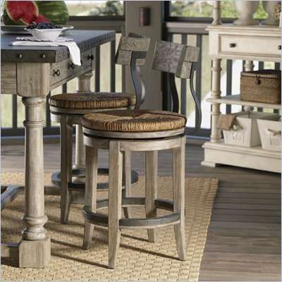 Lexington Twilight Bay Dalton Counter Stool in Driftwood