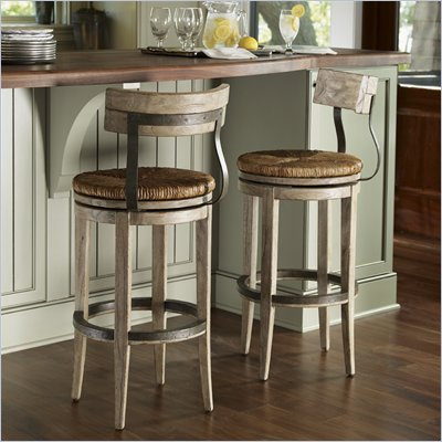 Lexington Twilight Bay Dalton Bar Stool in Driftwood