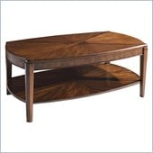 Somerton Wood Blend Oval Wood Top Cocktail Table