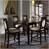 Somerton Signature Rectangular Gathering Table 5 Piece Pub Set