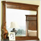 Somerton Melbourne Traditional Mirror in Warm Brown