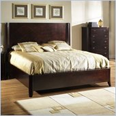 Somerton Crossroads Panel Bed in Deep Burnished Brown Finish