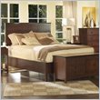 ADD TO YOUR SET: Somerton Enchantment Panel Bed in Rich Cappuccino Finish