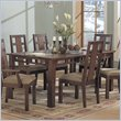 ADD TO YOUR SET: Somerton Enchantment Rectangular Casual Dining Table in Rich Cappuccino Finish