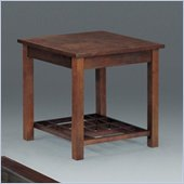 Somerton Enchantment End Table in Rich Cappuccino