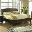 ADD TO YOUR SET: Somerton Cirque Panel Bed in Merlot Finish
