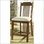 Somerton Craftsman Barstool in Warm Brown 