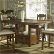ADD TO YOUR SET: Somerton Craftsman Dining Table in Warm Brown