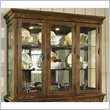 ADD TO YOUR SET: Somerton Craftsman Buffet Hutch in Warm Brown 