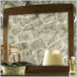 ADD TO YOUR SET: Somerton Craftsman Mirror in Warm Brown