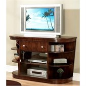 Somerton Montecito Entertainment Console in Warm Brown