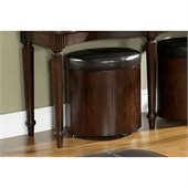 Somerton Morgan Storage Ottoman in Deep Brown