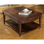Somerton Morgan Cocktail Table in Deep Brown