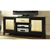 Somerton Insignia TV Console in Maple and Merlot Finish