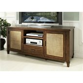 Somerton Mesa TV Console in Medium Brown