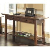 Somerton Dakota Sofa Table in Rich Brown