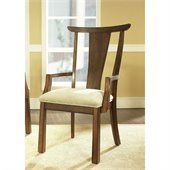 Somerton Dakota Arm Chair in Rich Brown