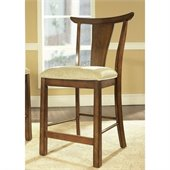 Somerton Dakota Bar Stool in Rich Brown