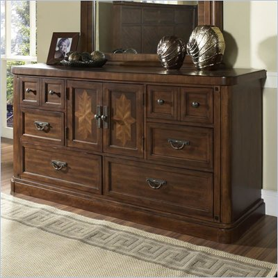 Somerton Barrington 6 Drawer Double Dresser