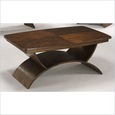 Somerton Cirque Cocktail Table in Merlot