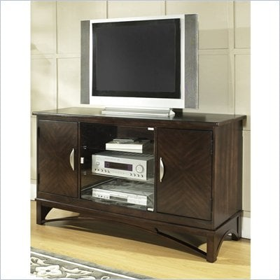 Somerton Cirque TV Entertainment Console in Merlot