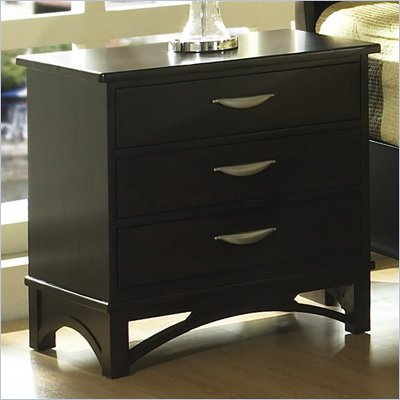 Somerton Cirque Nightstand in Merlot