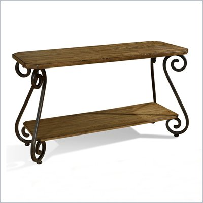 Somerton Covington Sofa Table in Cocoa Brown