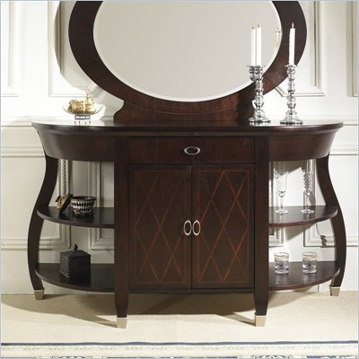Somerton Crossroads Side Server Buffet in Deep Burnished Brown
