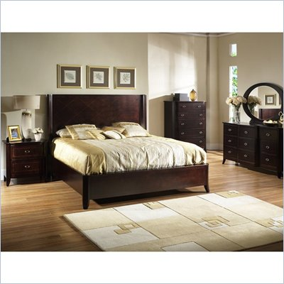 Somerton Crossroads Panel Bed 6 Piece Bedroom Set