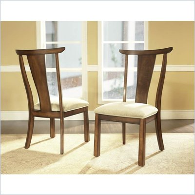 Somerton Dakota Side Chair in Rich Brown